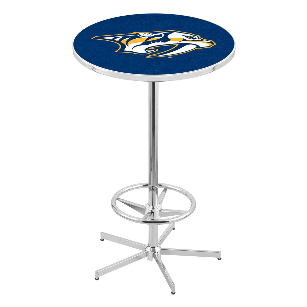 Learn more about Chrome Nashville Predators Pub Table Product Photo