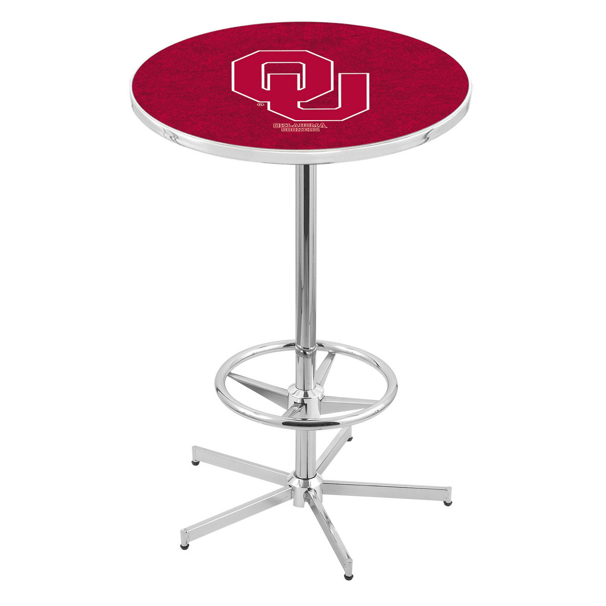 Impressive Chrome Oklahoma Pub Table Product Photo