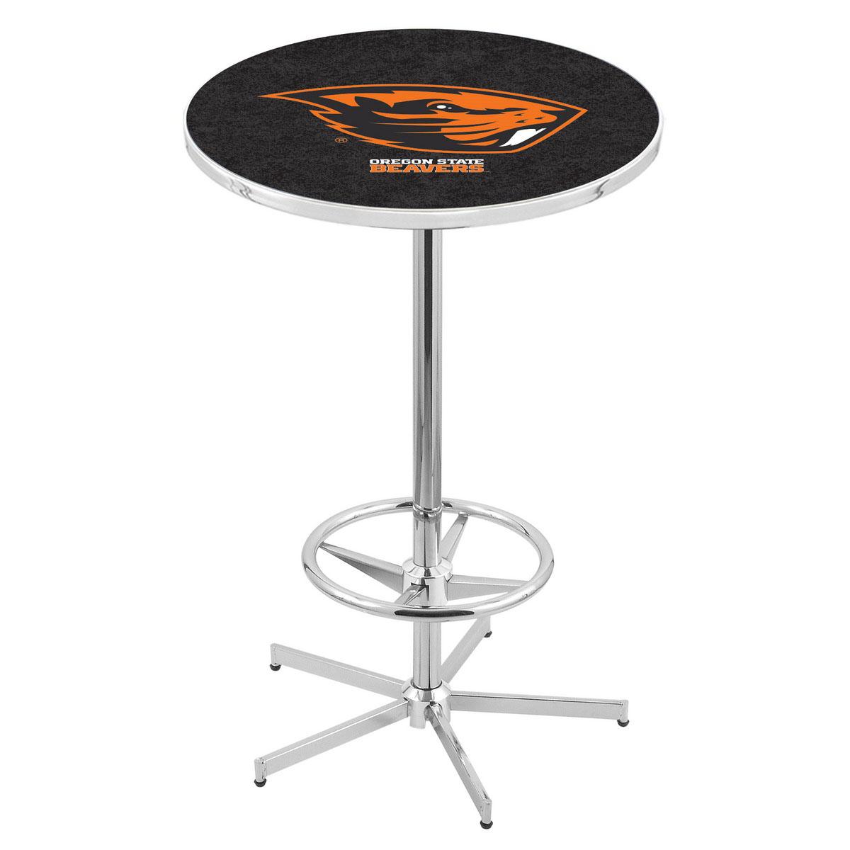 Design Chrome Oregon State Pub Table Product Photo