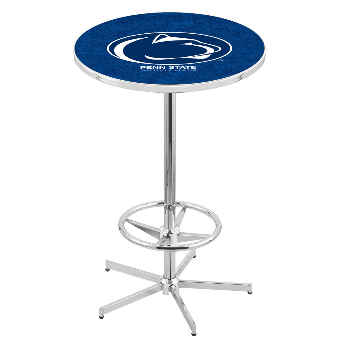 Reliable Chrome Penn State Pub Table Product Photo