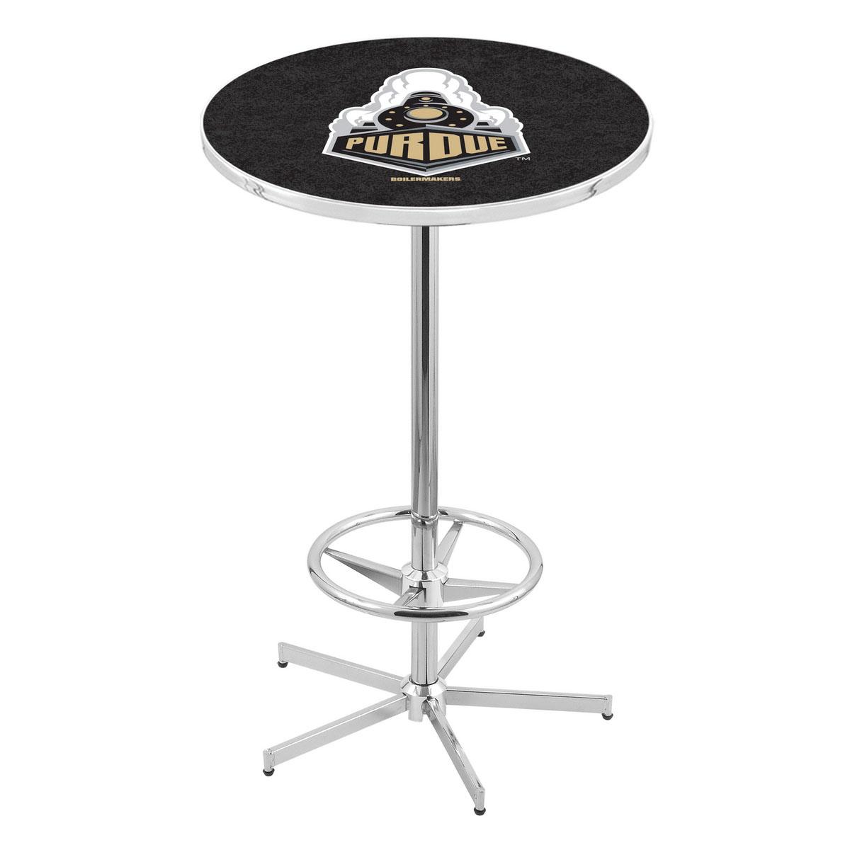 Cheap Chrome Purdue Pub Table Product Photo