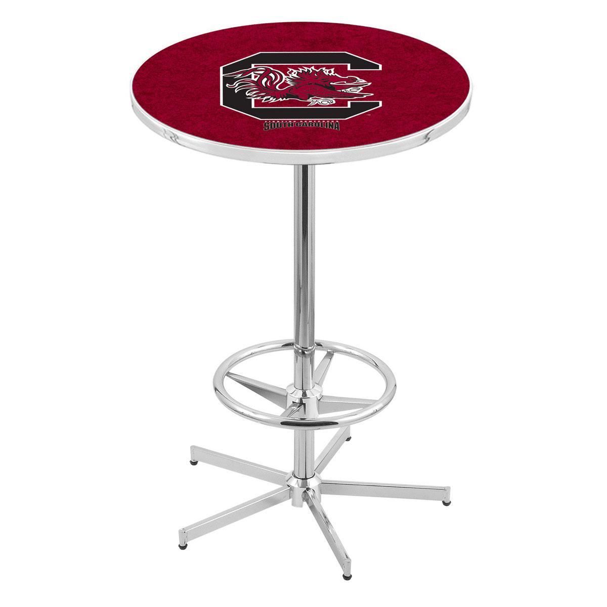 Splendid Chrome South Carolina Pub Table Product Photo
