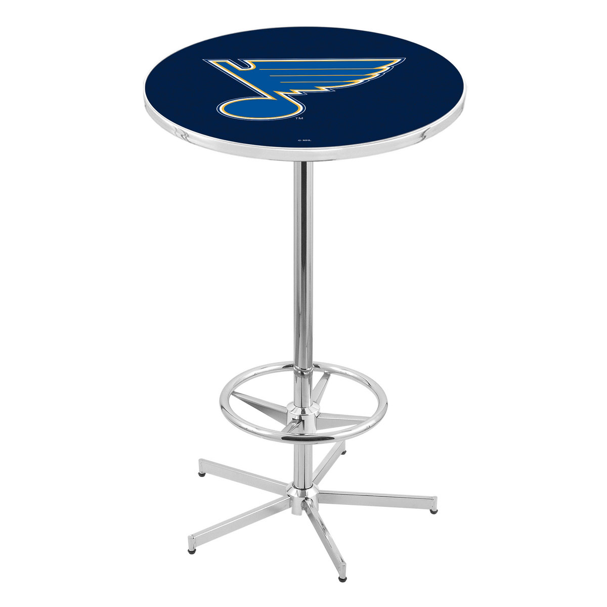 Best-selling Chrome St Louiss Pub Table Product Photo