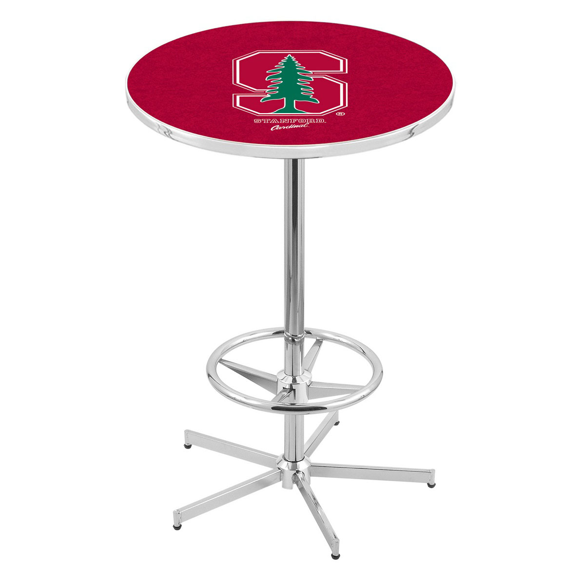 Choose Chrome-Stanford-Pub-Table Product Picture 1037