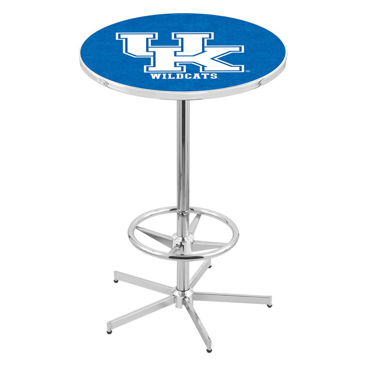 Superb-quality Chrome Kentucky Pub Table Product Photo