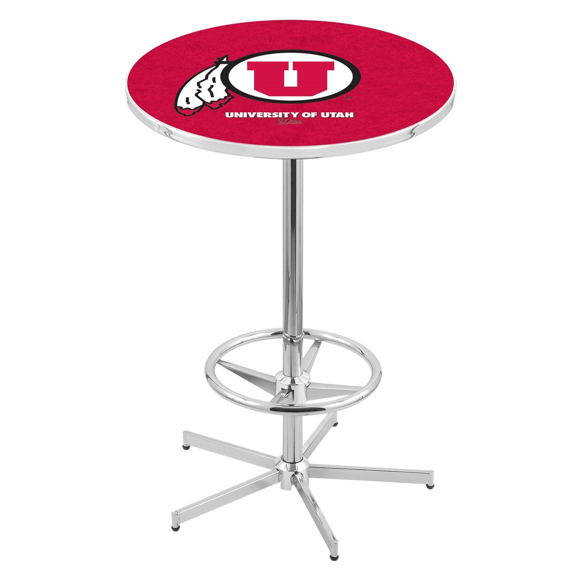 Purchase Chrome Utah Pub Table Product Photo