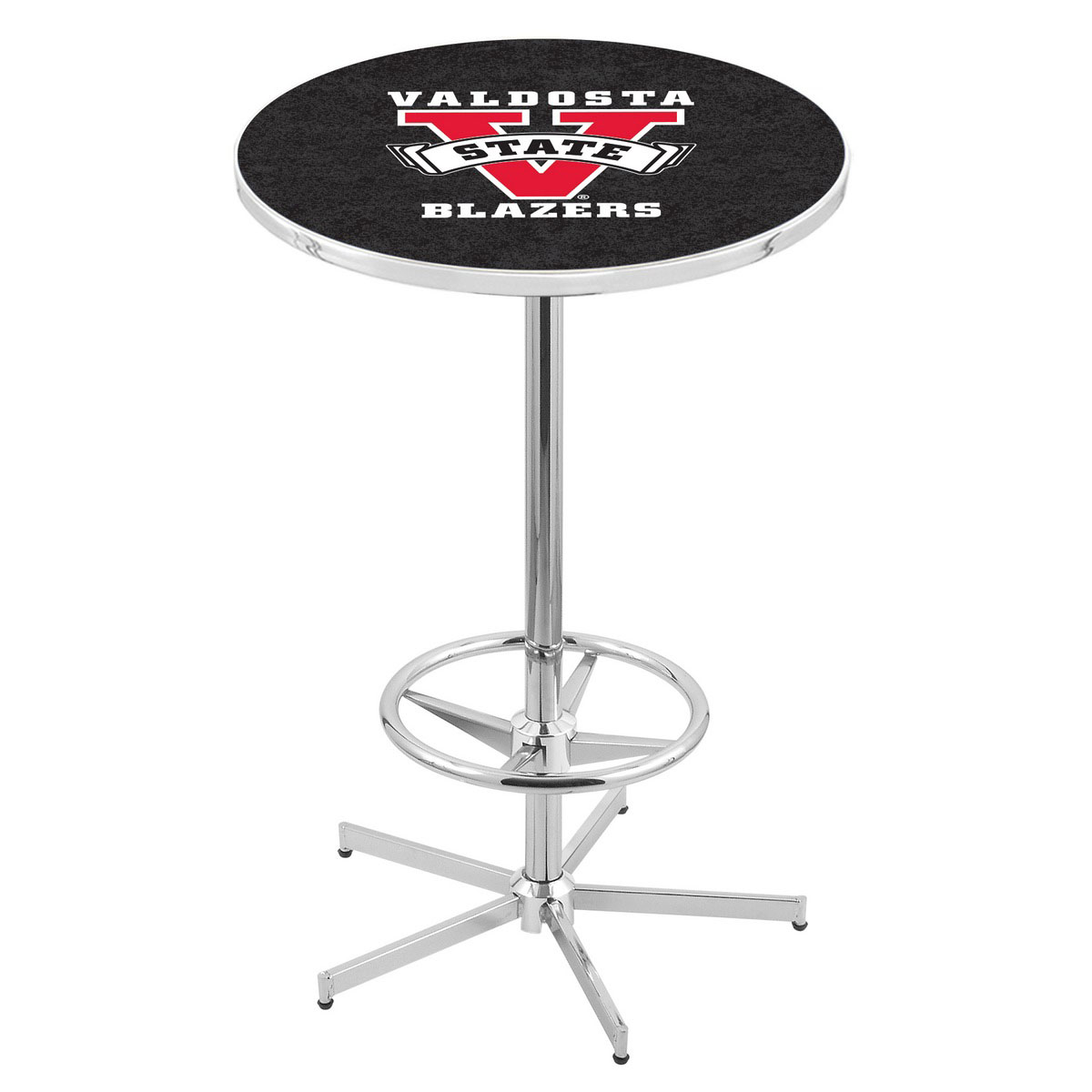 Ultimate Chrome Valdosta State Pub Table Product Photo