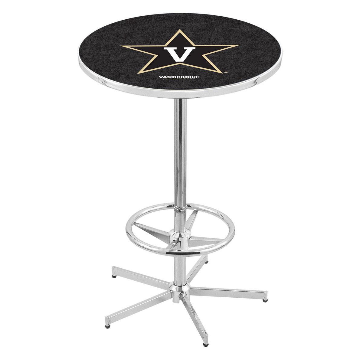 Choose Chrome Vanderbilt Pub Table Product Photo