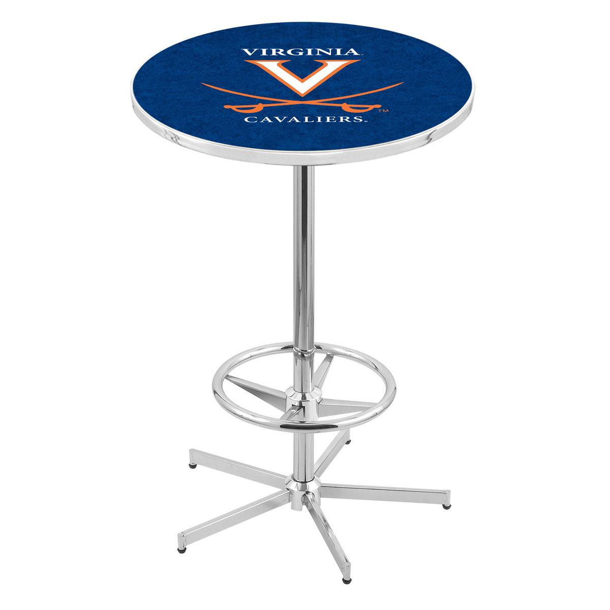 Select Chrome Virginia Pub Table Product Photo