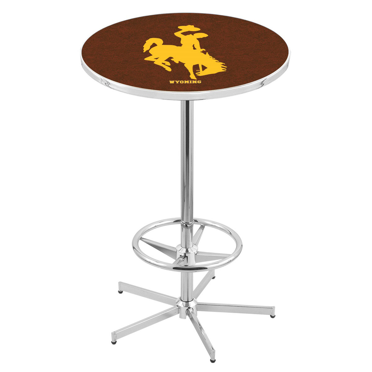 Information about Chrome Wyoming Pub Table Product Photo