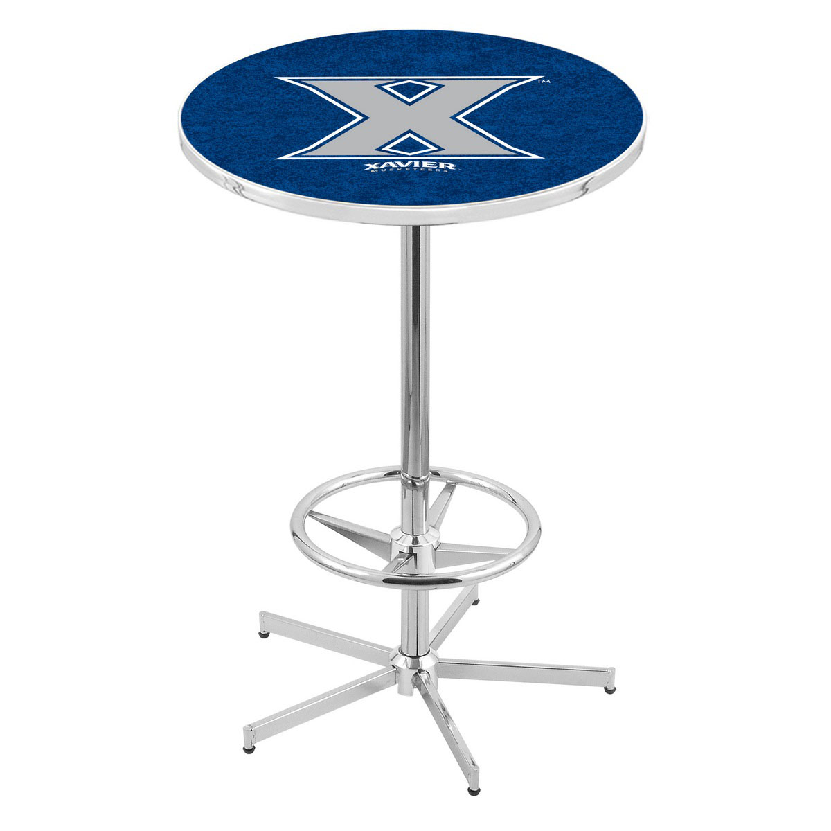 Money saving Chrome Xavier Pub Table Product Photo