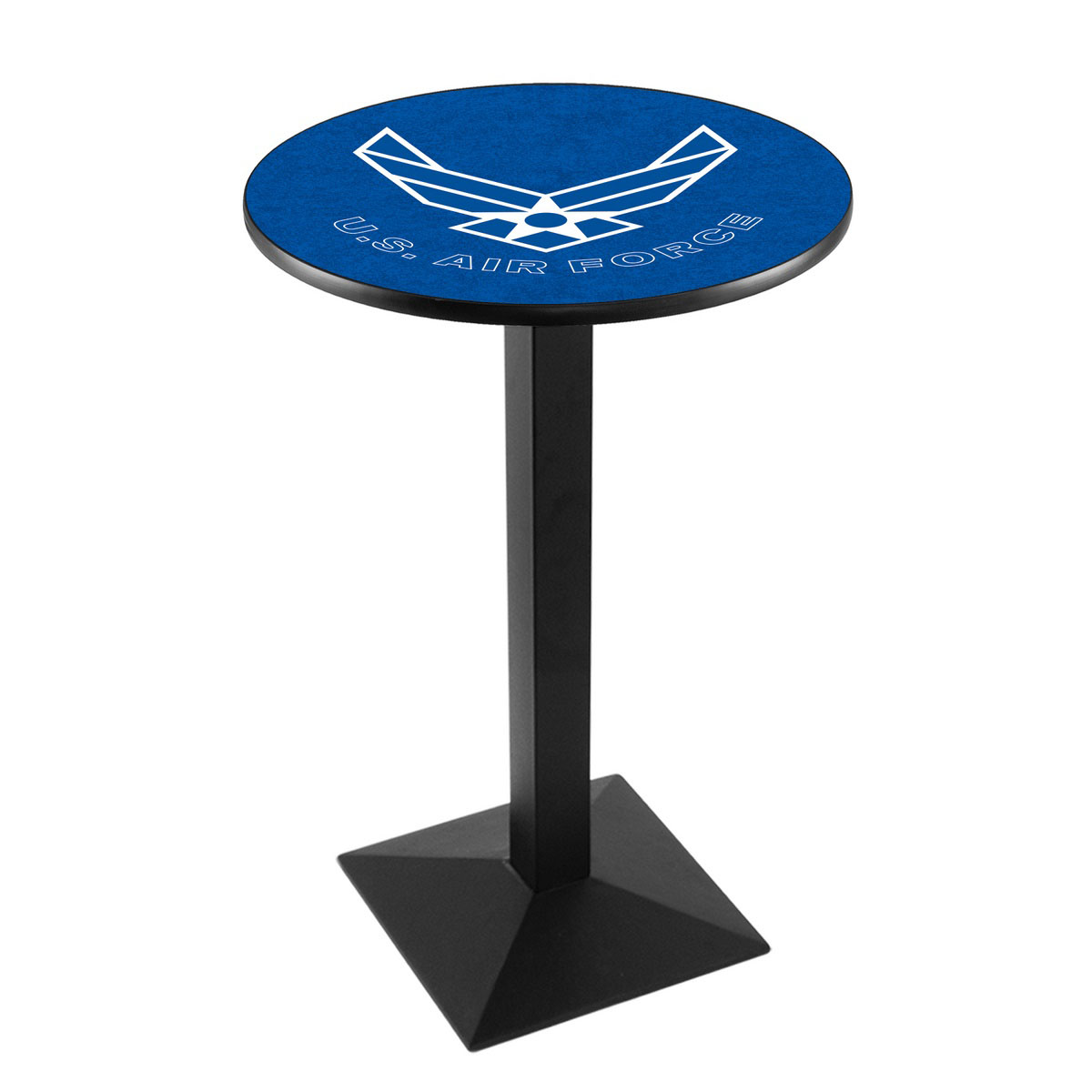 Reliable United States Air Force Logo Pub Bar Table Square Stand Product Photo