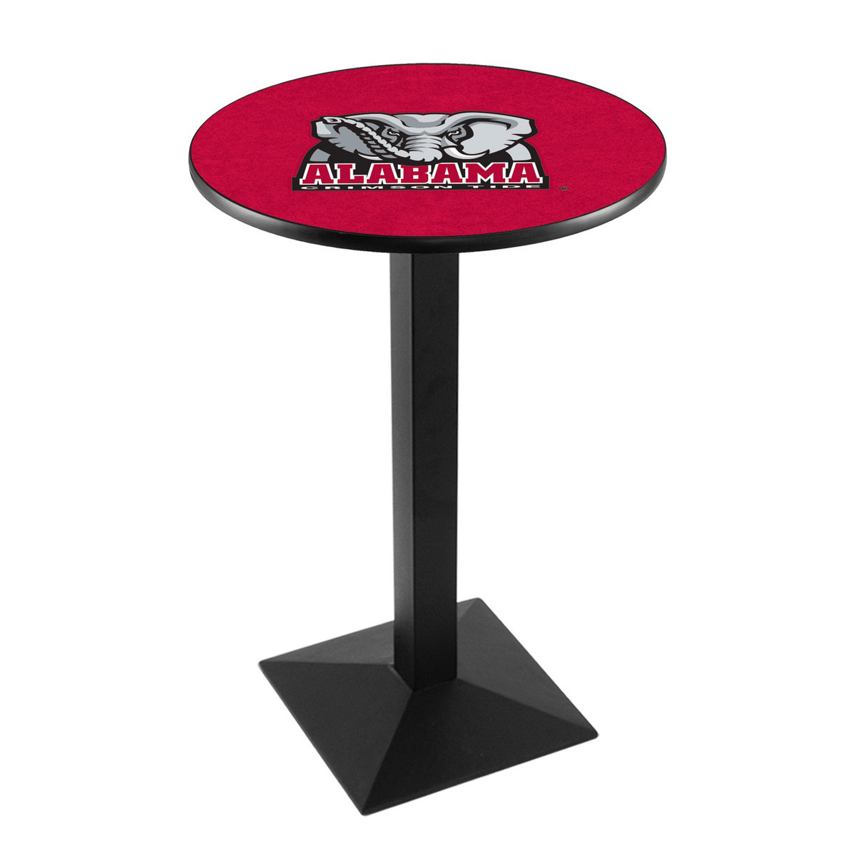 Outstanding University Alabama Elephant Logo Pub Bar Table Square Stand Product Photo