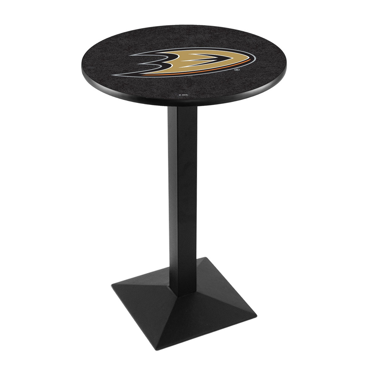 Reliable Anaheim Ducks Logo Pub Bar Table Square Stand 26 1845