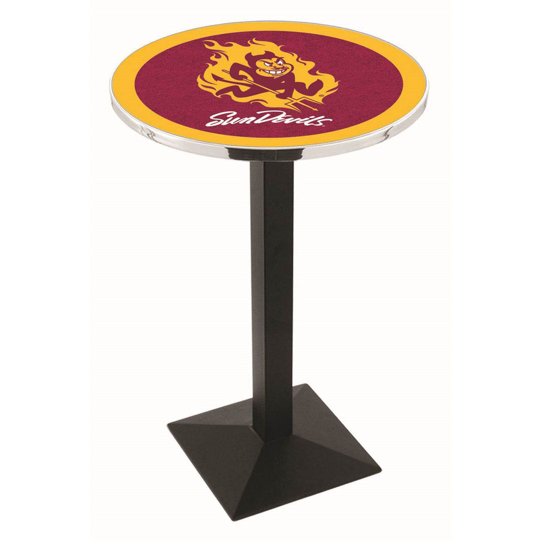 Valuable Arizona State University Logo Pub Bar Table Square Stand Product Photo