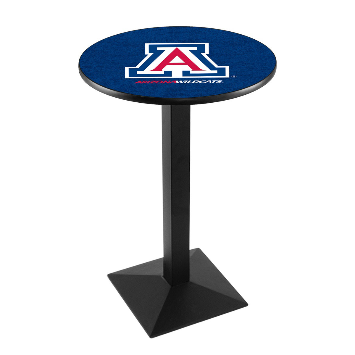 Popular University Arizona Logo Pub Bar Table Square Stand Product Photo