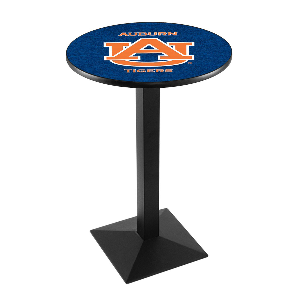 Check out the Auburn University Logo Pub Bar Table Square Stand Product Photo