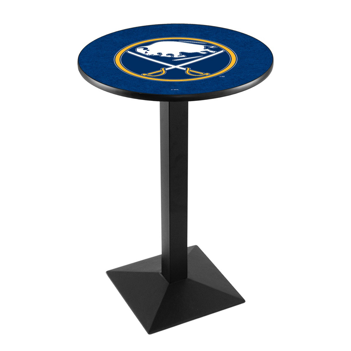 High-class Buffalo Sabres Logo Pub Bar Table Square Stand Product Photo