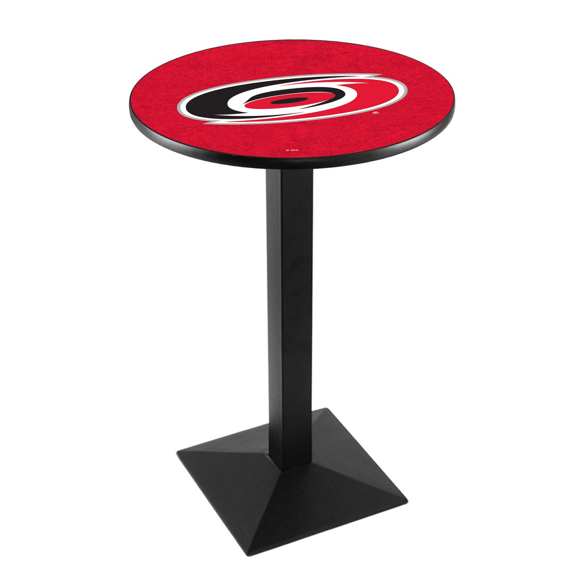 Longstanding Carolina Hurricanes Logo Pub Bar Table Square Stand Product Photo