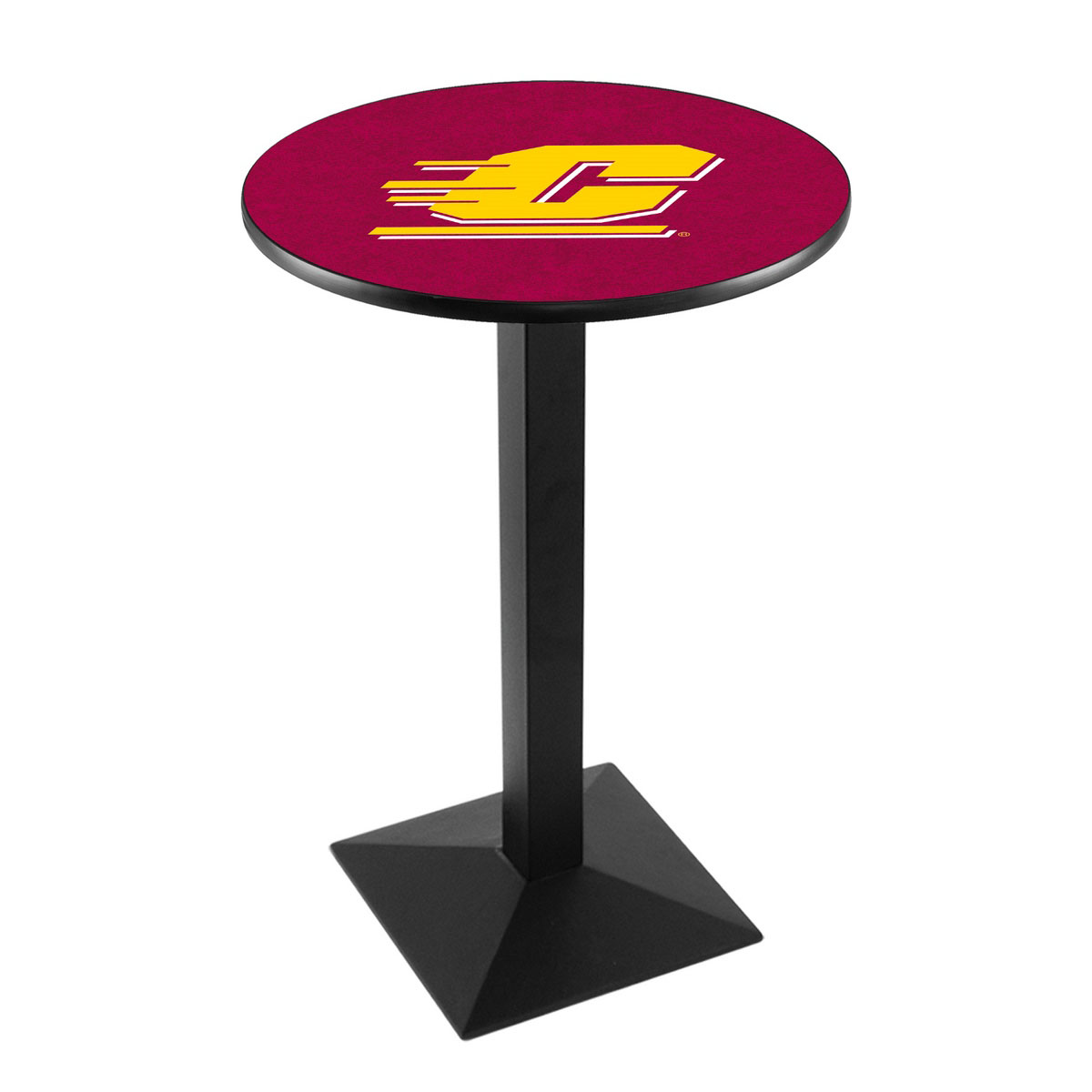 Buy Central Michigan University Logo Pub Bar Table Square Stand Product Photo