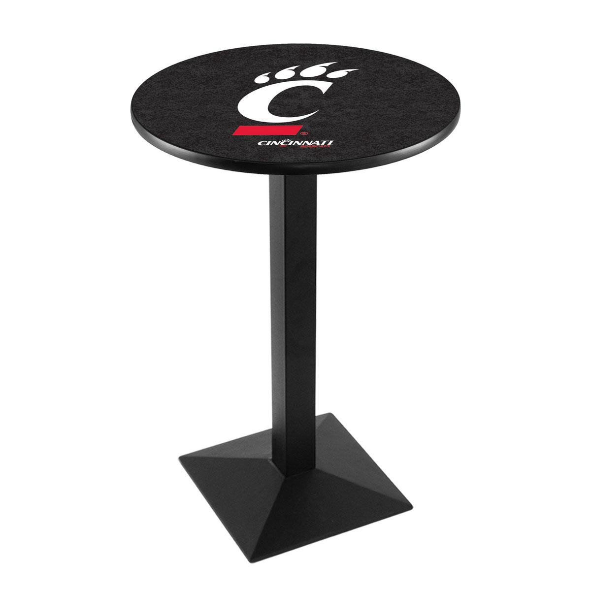Choose University Cincinnati Logo Pub Bar Table Square Stand Product Photo
