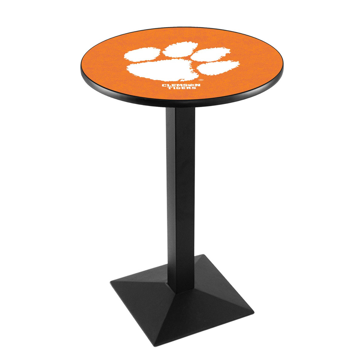 Search Clemson Logo Pub Bar Table Square Stand Product Photo