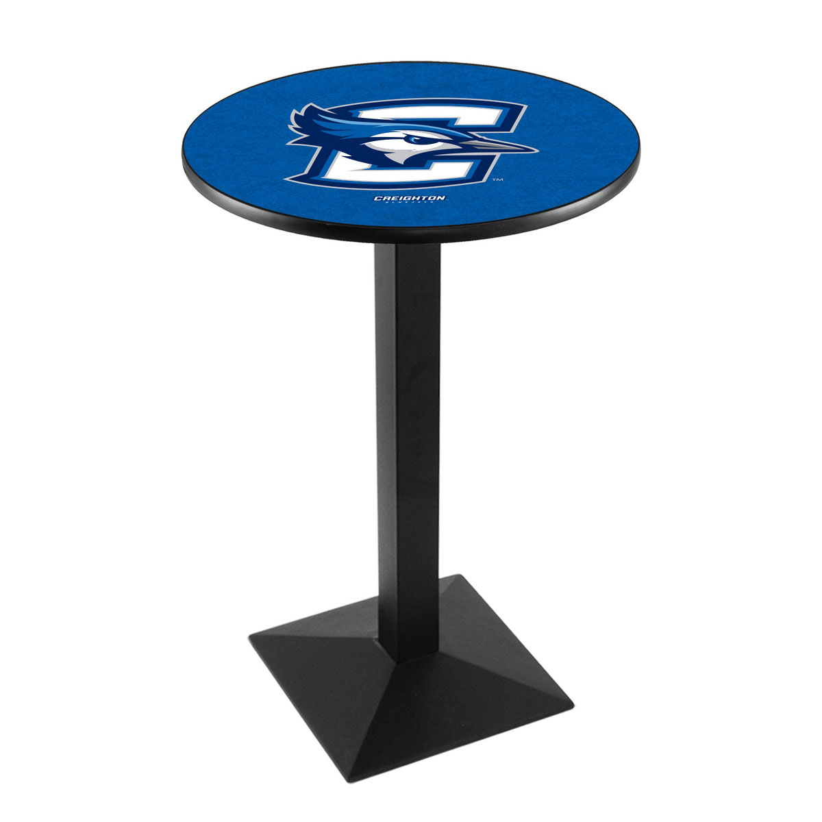 Ultimate Creighton University Logo Pub Bar Table Square Stand Product Photo