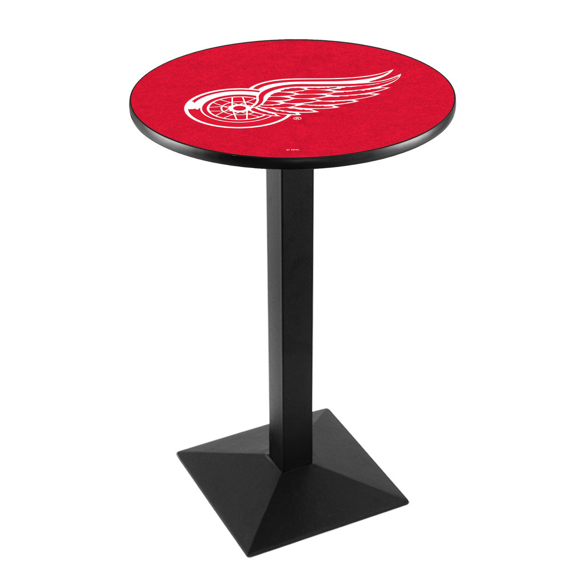 Stunning Detroit Wings Logo Pub Bar Table Square Stand Product Photo