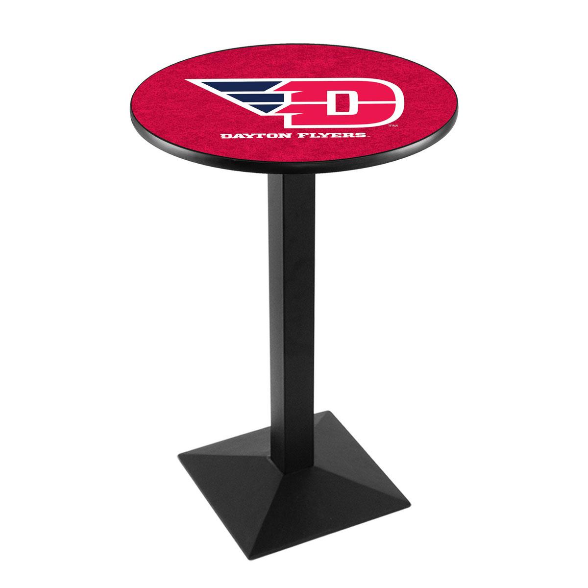 Amazing University Dayton Logo Pub Bar Table Square Stand Product Photo