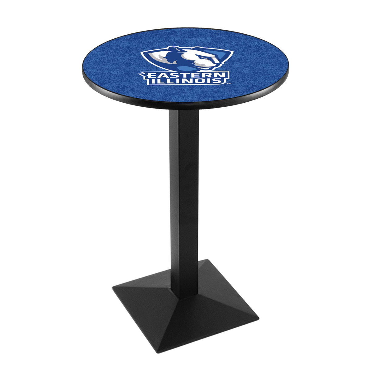 Exquisite Eastern Illinois University Logo Pub Bar Table Square Stand Product Photo