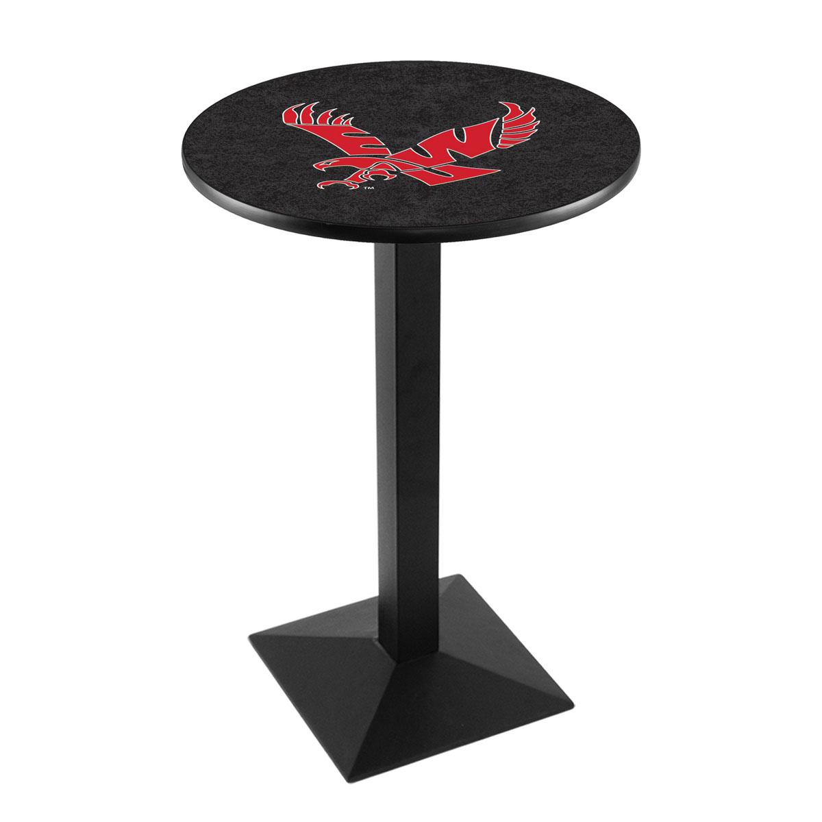 Tasteful Eastern Washington University Logo Pub Bar Table Square Stand Product Photo