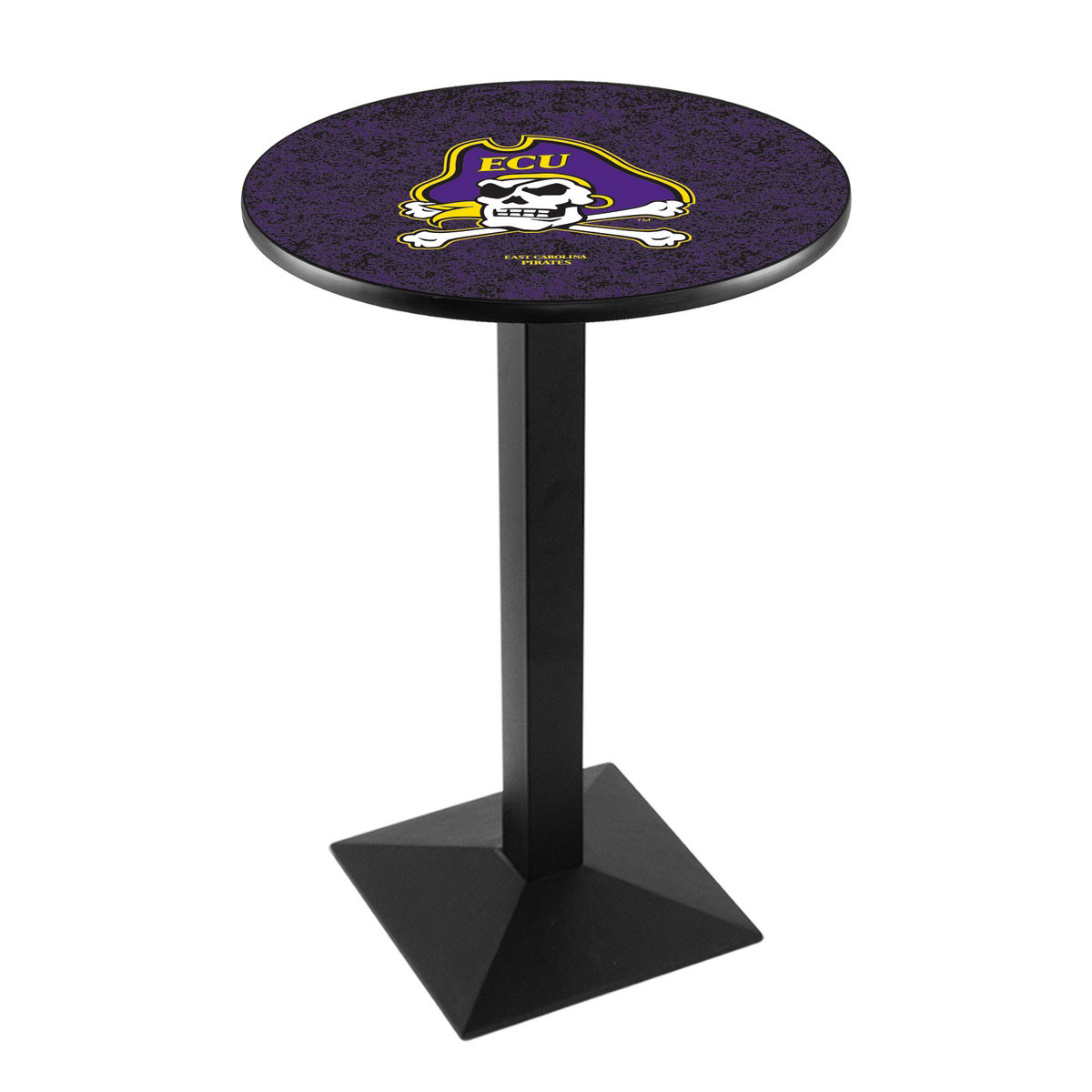 Affordable East Carolina University Logo Pub Bar Table Square Stand Product Photo