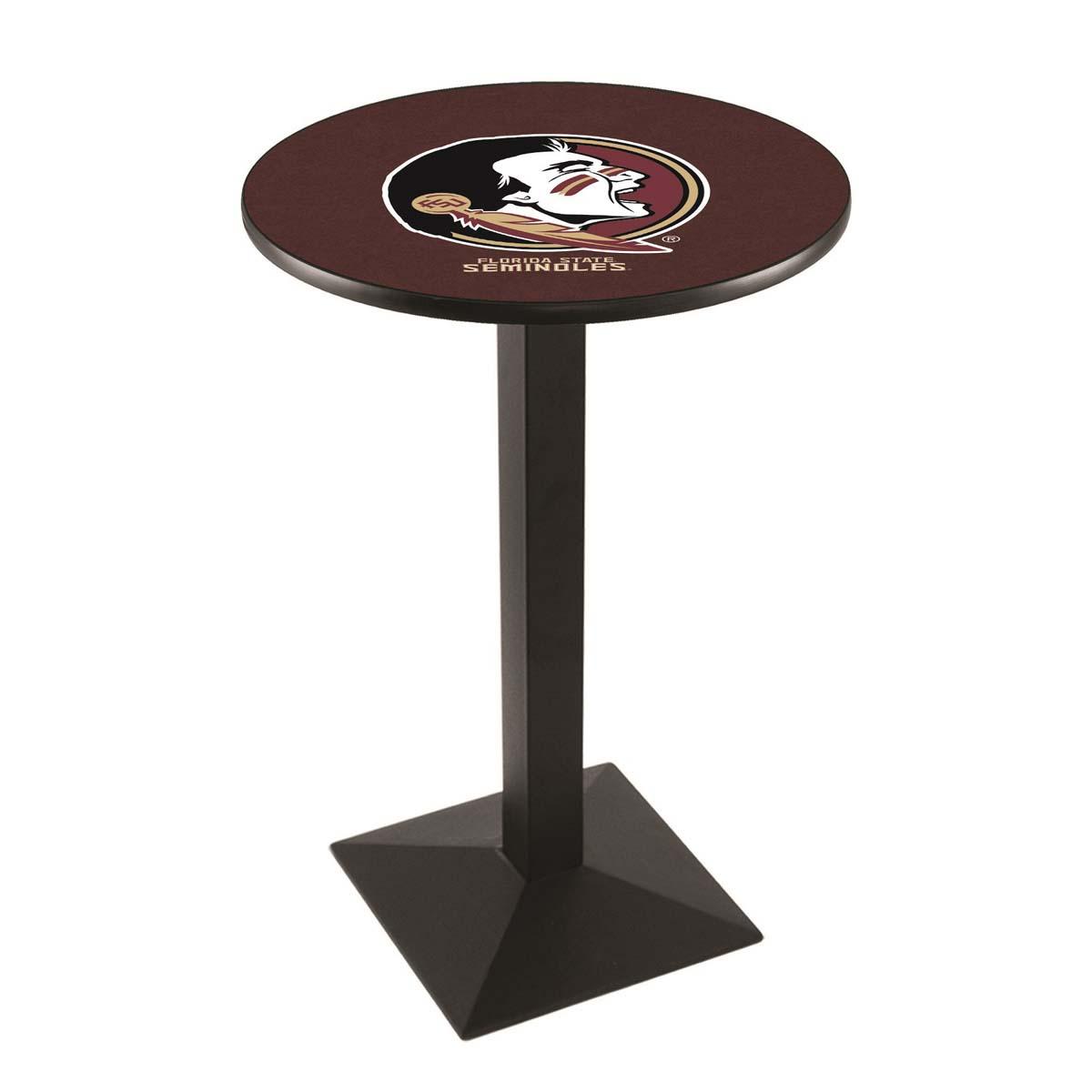 Money saving Florida State Head Logo Pub Bar Table Square Stand Product Photo