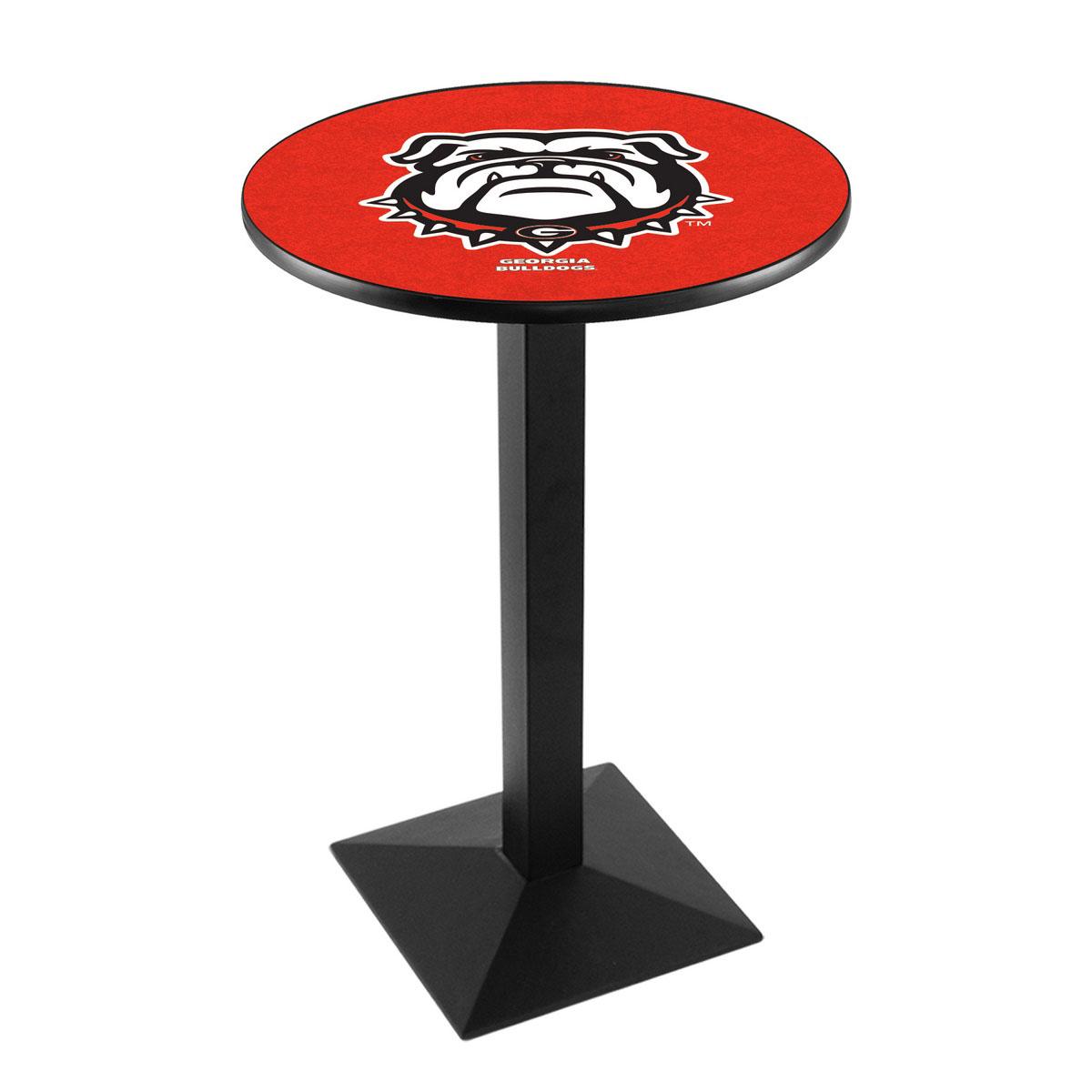 Select University-Georgia-Bulldog-Logo-Pub-Bar-Table-Square-Stand Product Picture 1669