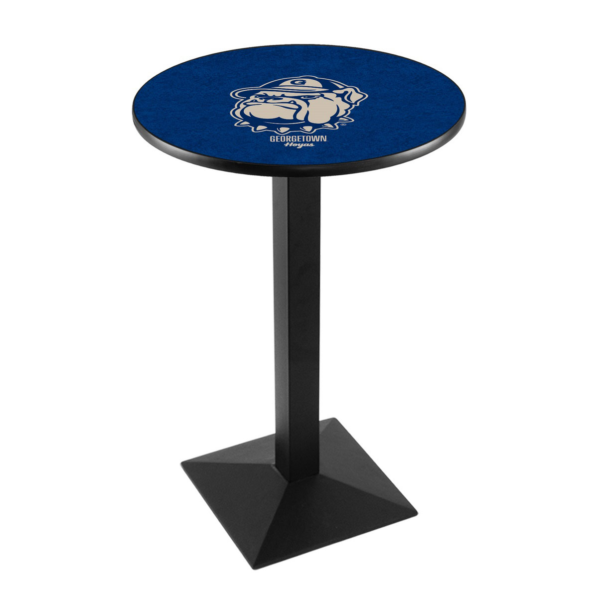 New Georgetown University Logo Pub Bar Table Square Stand Product Photo