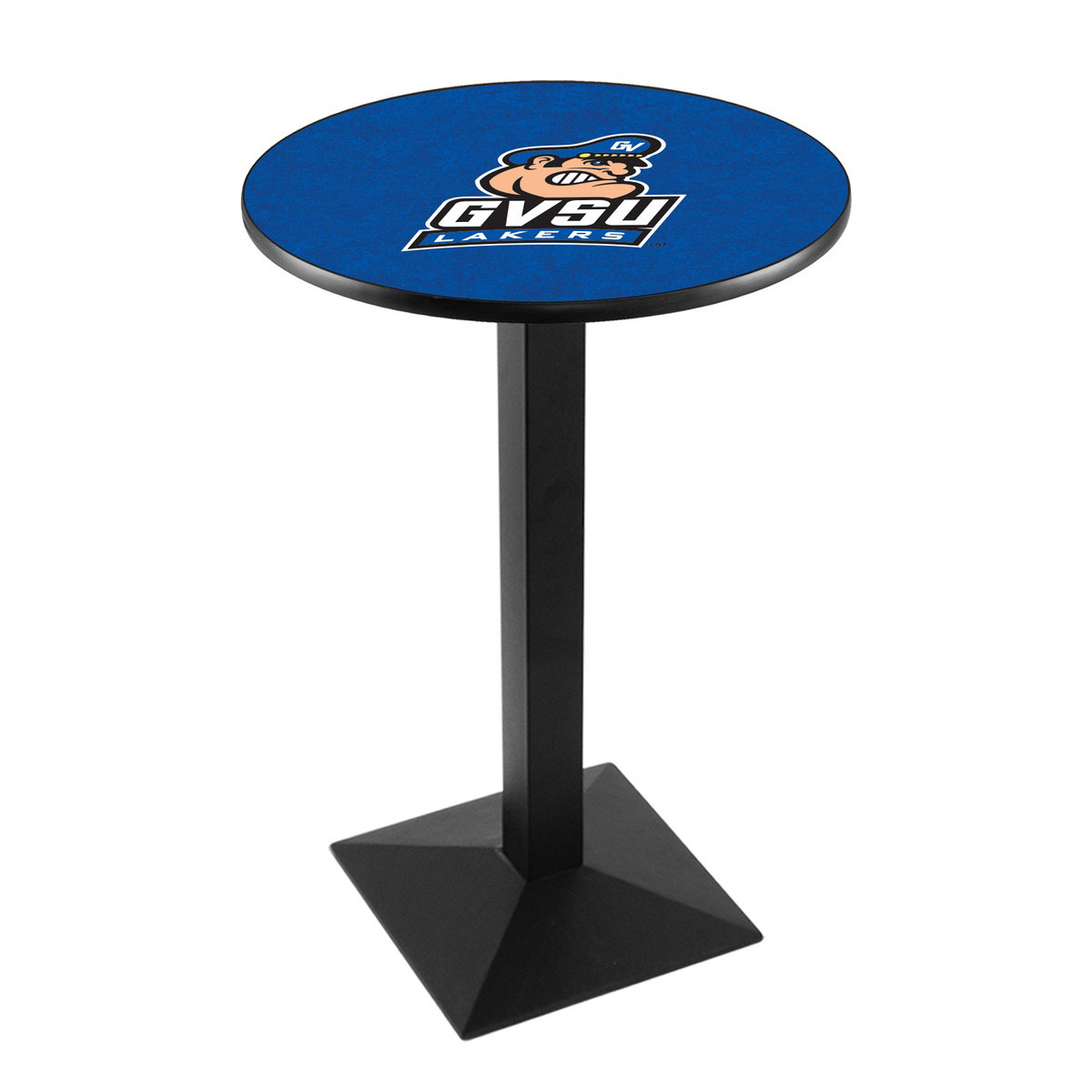 Outstanding Grand Valley State University Logo Pub Bar Table Square Stand Product Photo