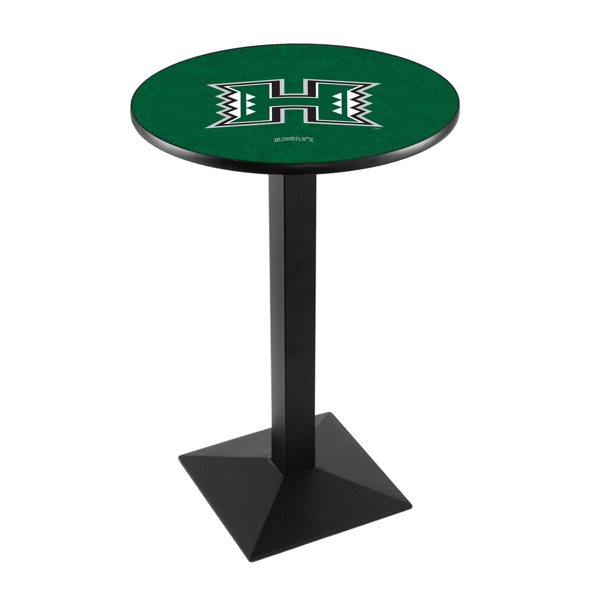 Cheap University Hawaii Logo Pub Bar Table Square Stand Product Photo