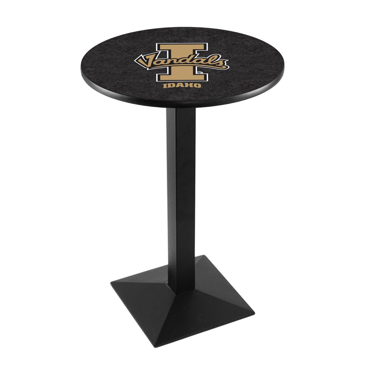 Excellent University Idaho Logo Pub Bar Table Square Stand Product Photo