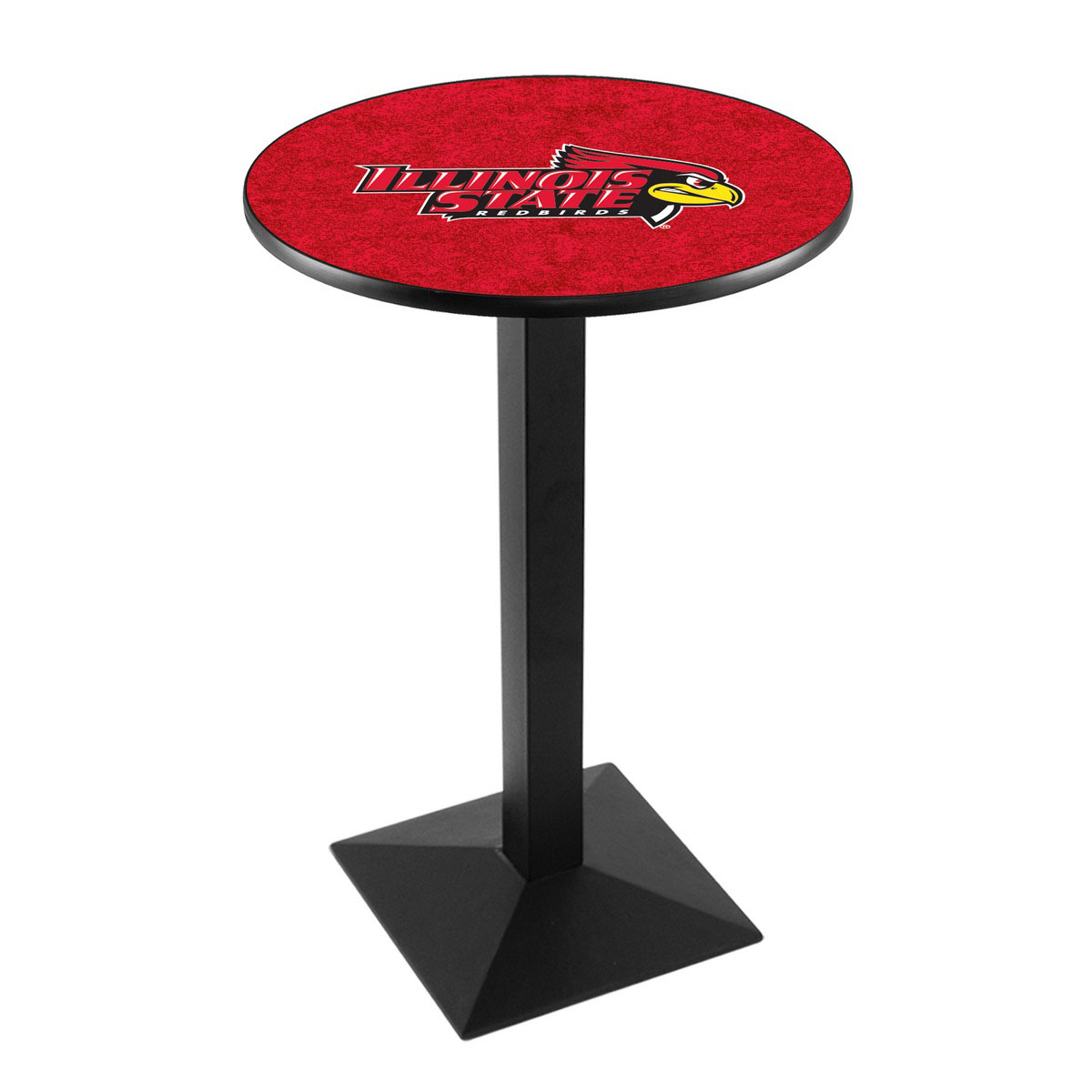 Valuable Illinois State University Logo Pub Bar Table Square Stand Product Photo