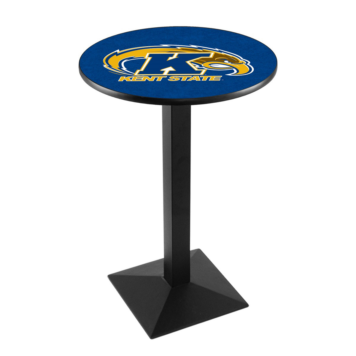 One of a kind Kent State University Logo Pub Bar Table Square Stand Product Photo