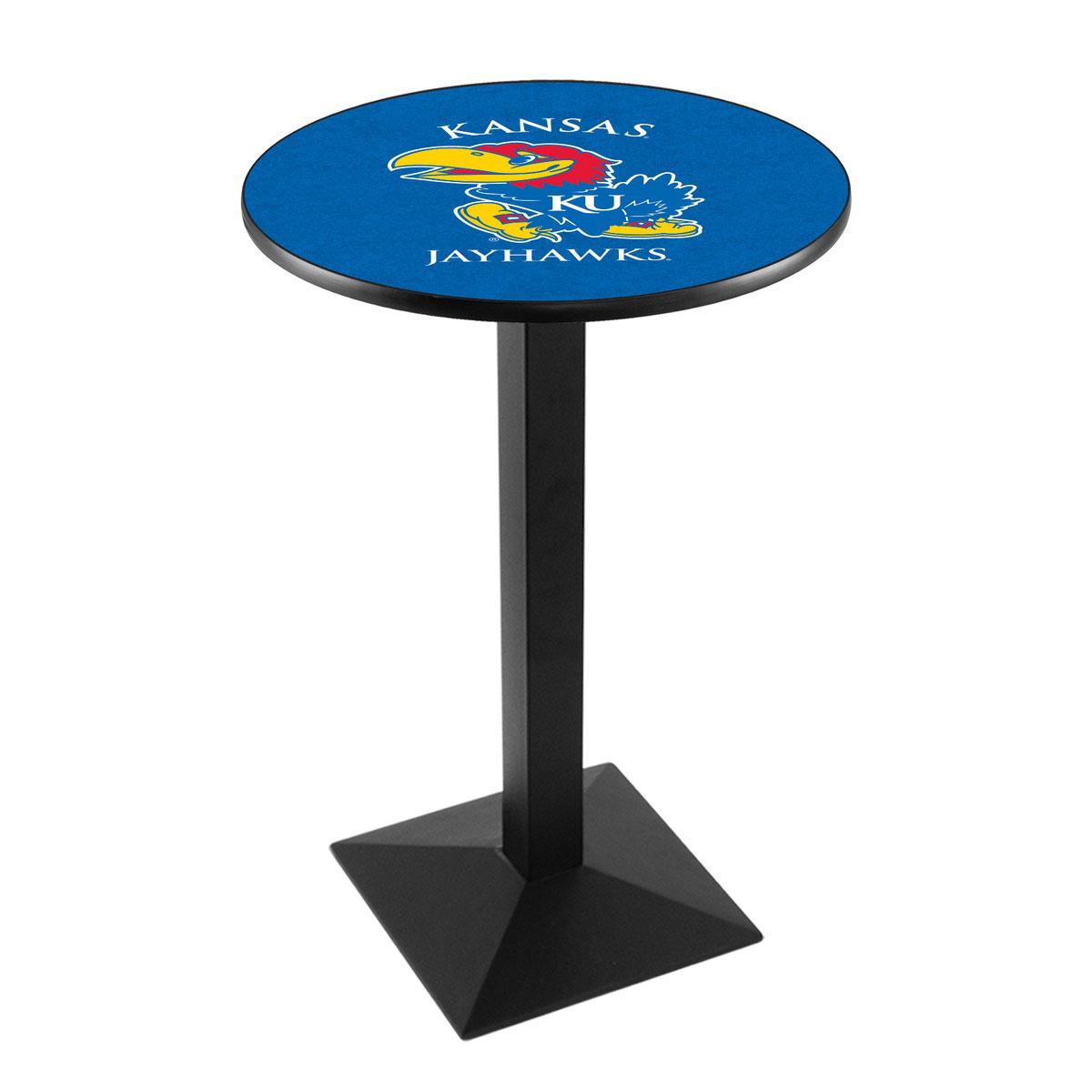 Splendid University Kansas Logo Pub Bar Table Square Stand Product Photo