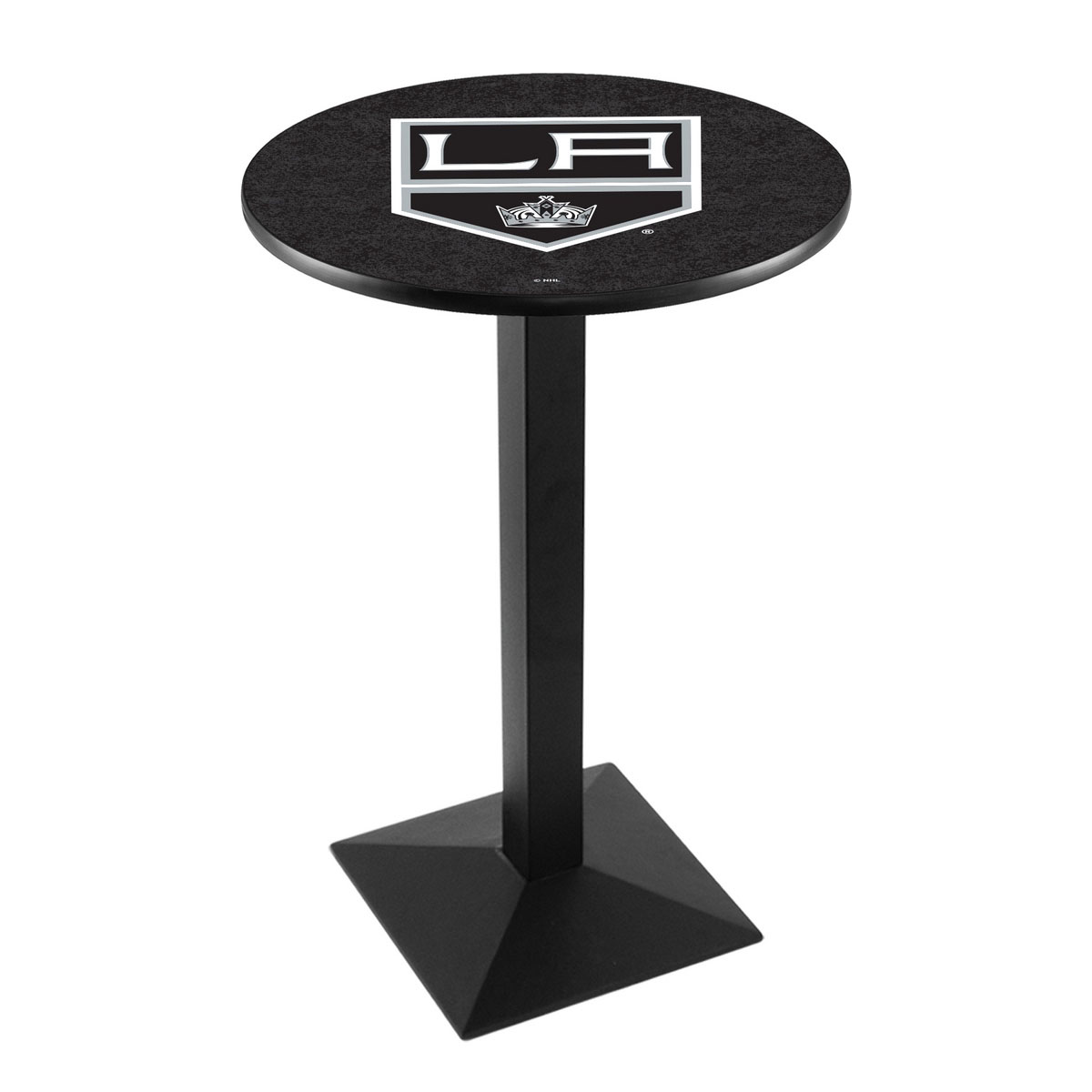 Beautiful Los Angeles Kings Logo Pub Bar Table Square Stand Product Photo