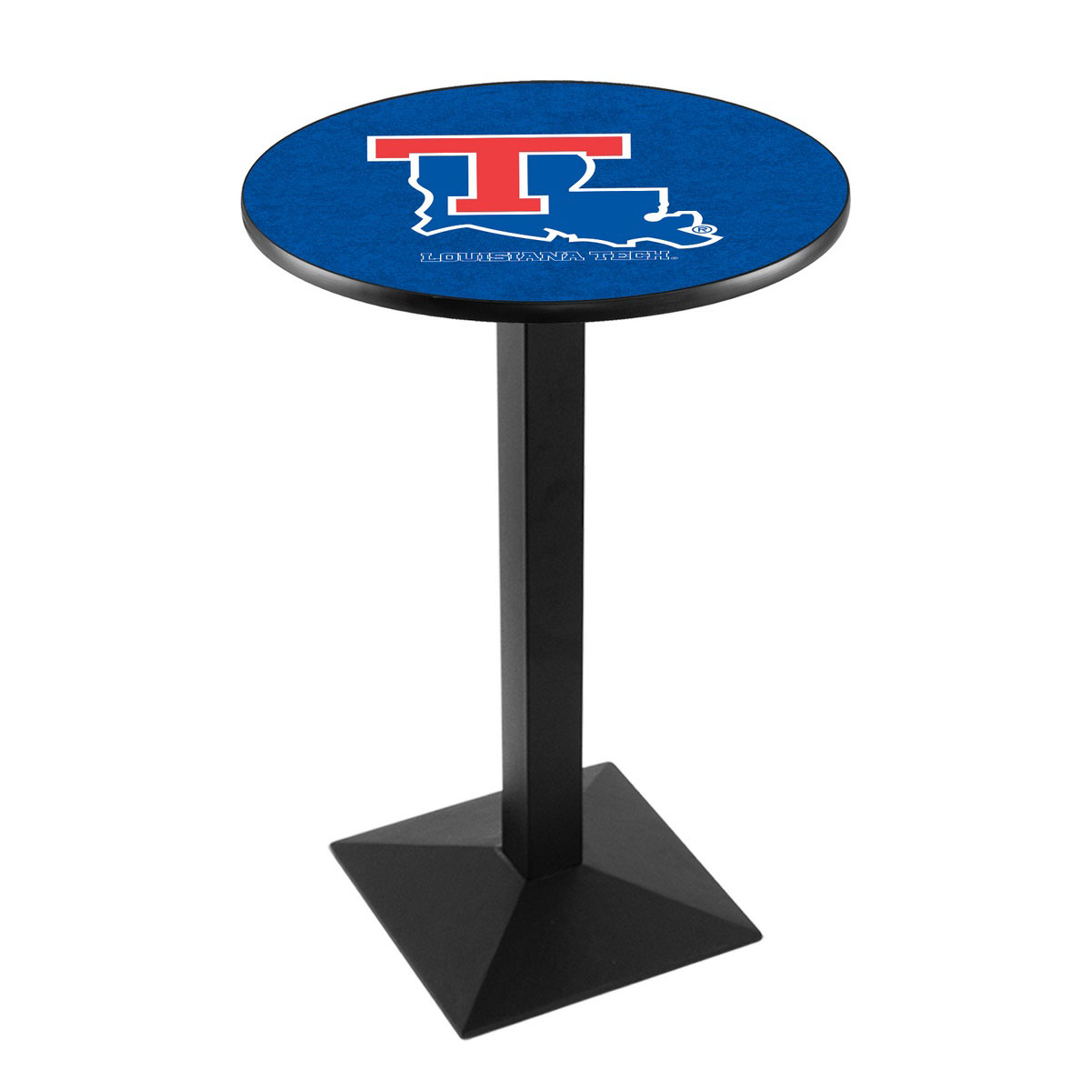 Longstanding Louisiana Tech University Logo Pub Bar Table Square Stand Product Photo