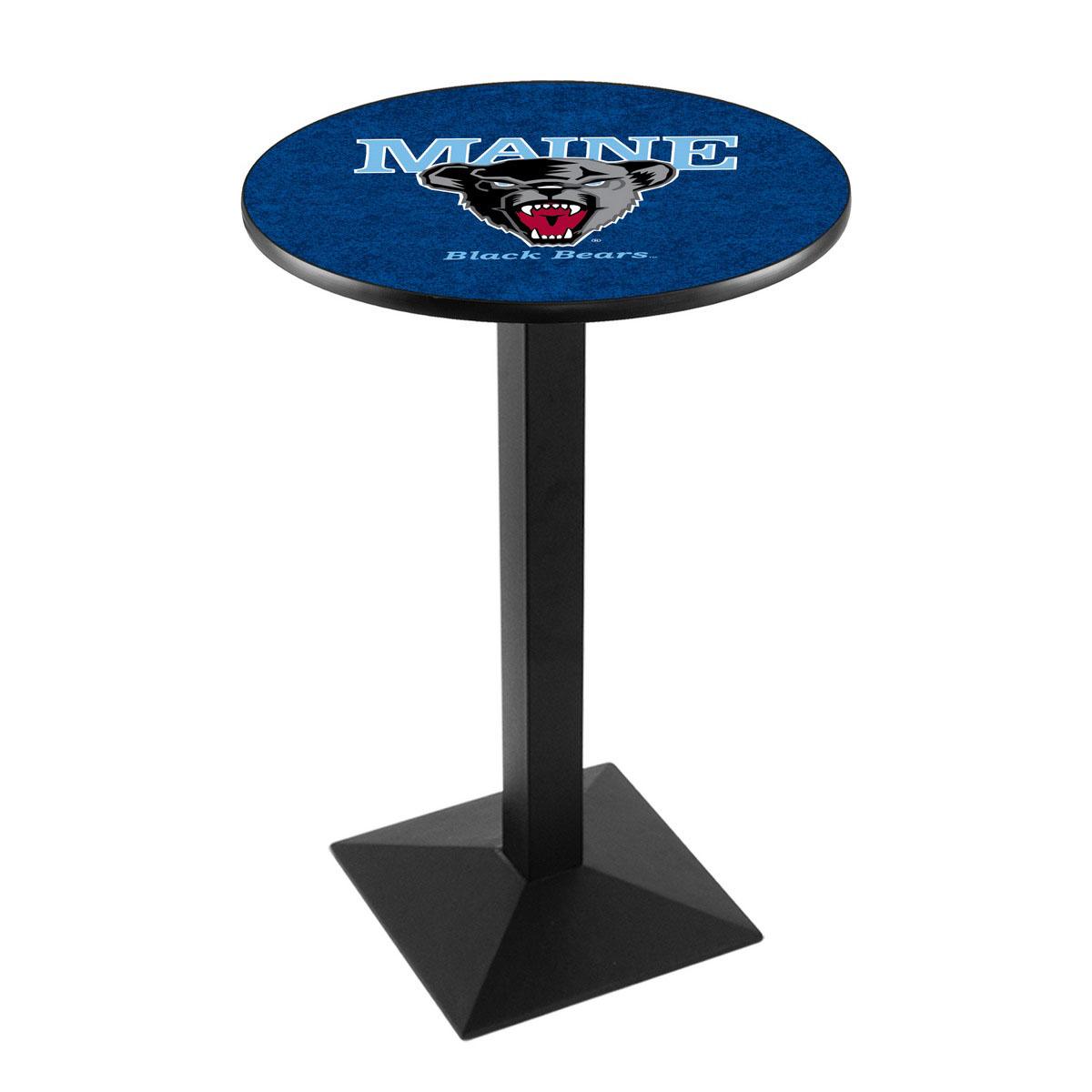 Buy University Maine Logo Pub Bar Table Square Stand Product Photo