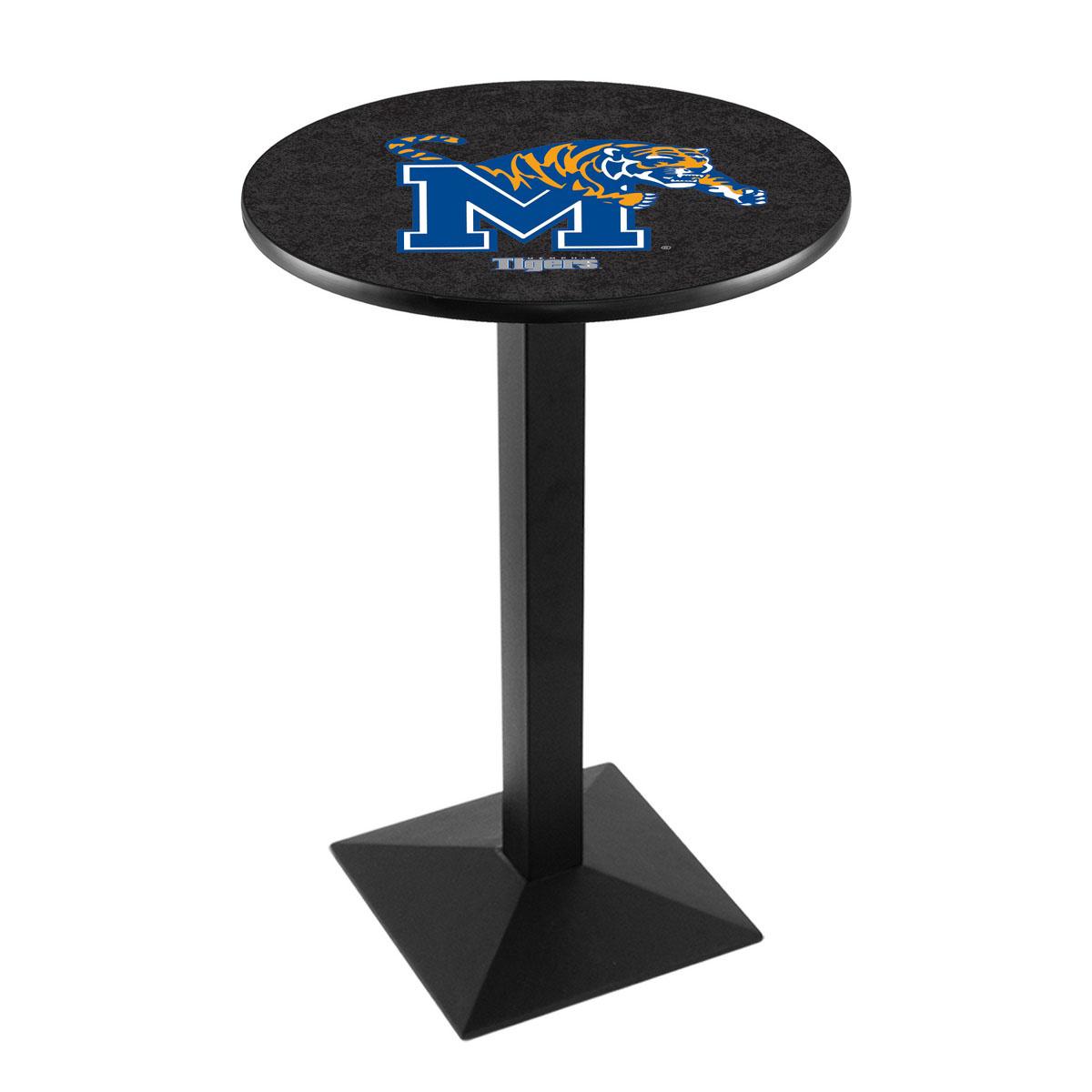Stylish University Memphis Logo Pub Bar Table Square Stand 28 2727