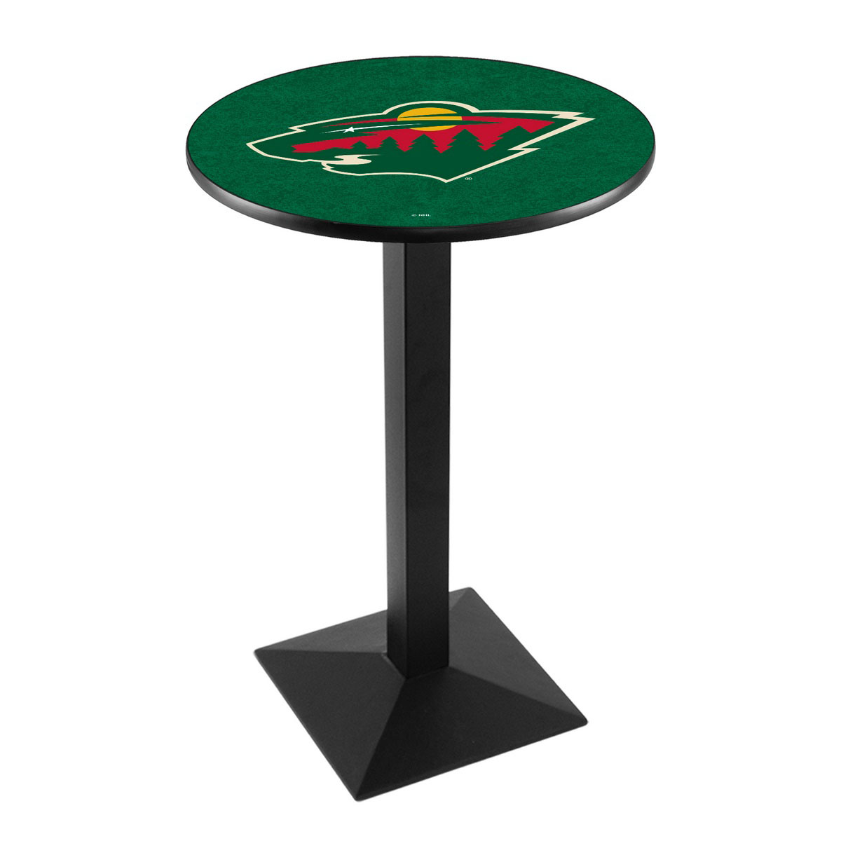 Select Minnesota-Wild-Logo-Pub-Bar-Table-Square-Stand Product Picture 1705