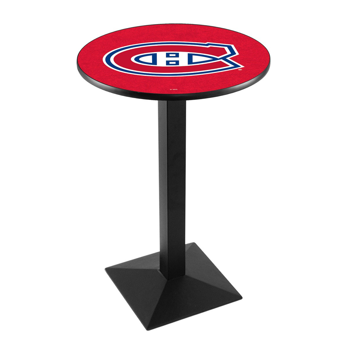 Choose Montreal Canadiens Logo Pub Bar Table Square Stand Product Photo