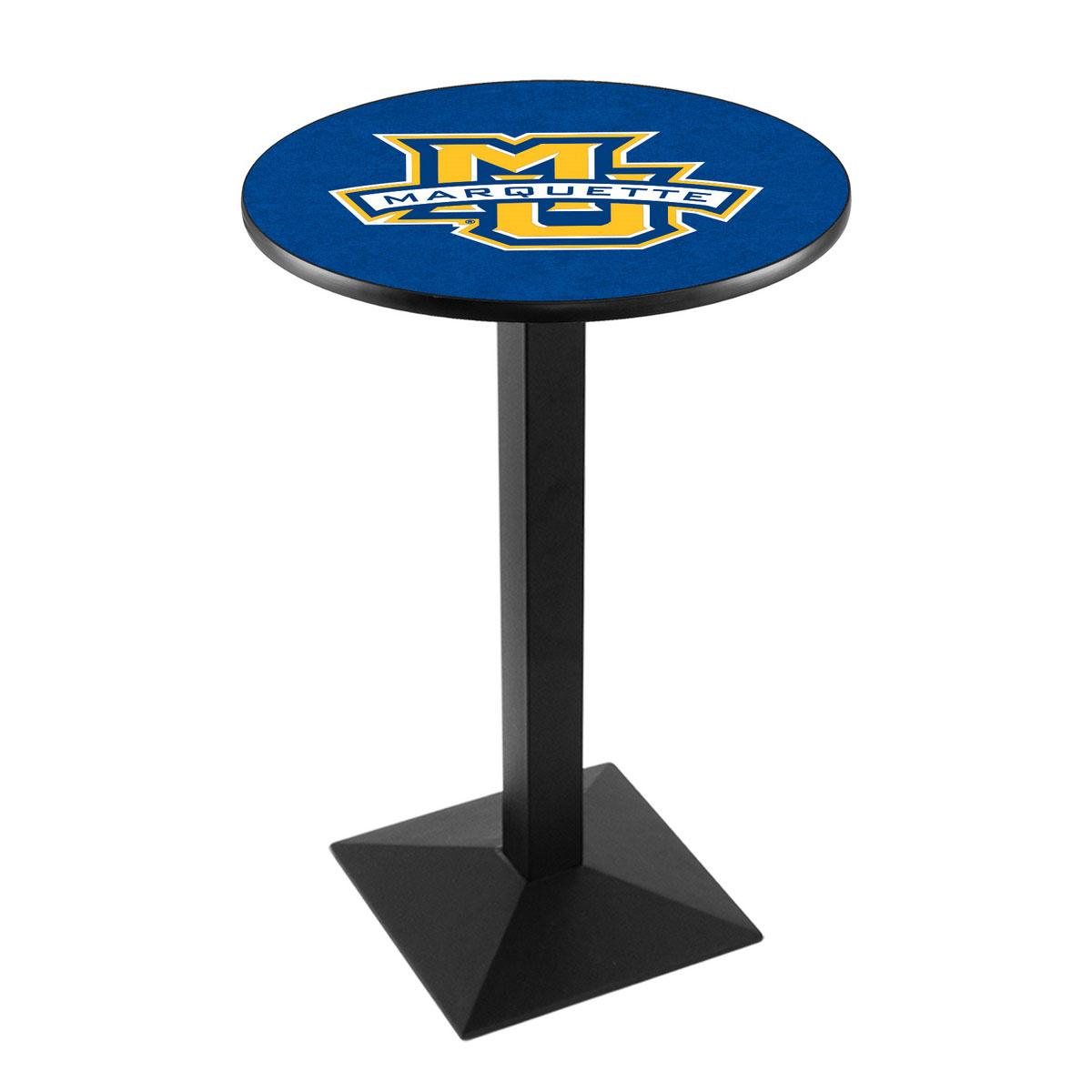 Amazing Marquette University Logo Pub Bar Table Square Stand Product Photo