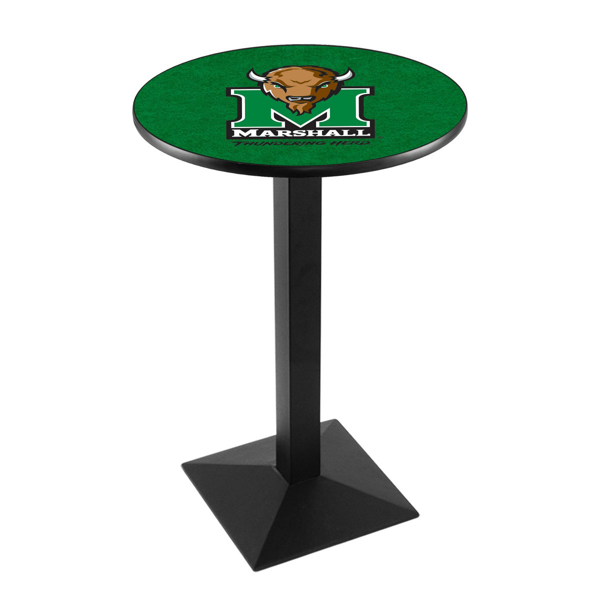 Exquisite Marshall University Logo Pub Bar Table Square Stand Product Photo