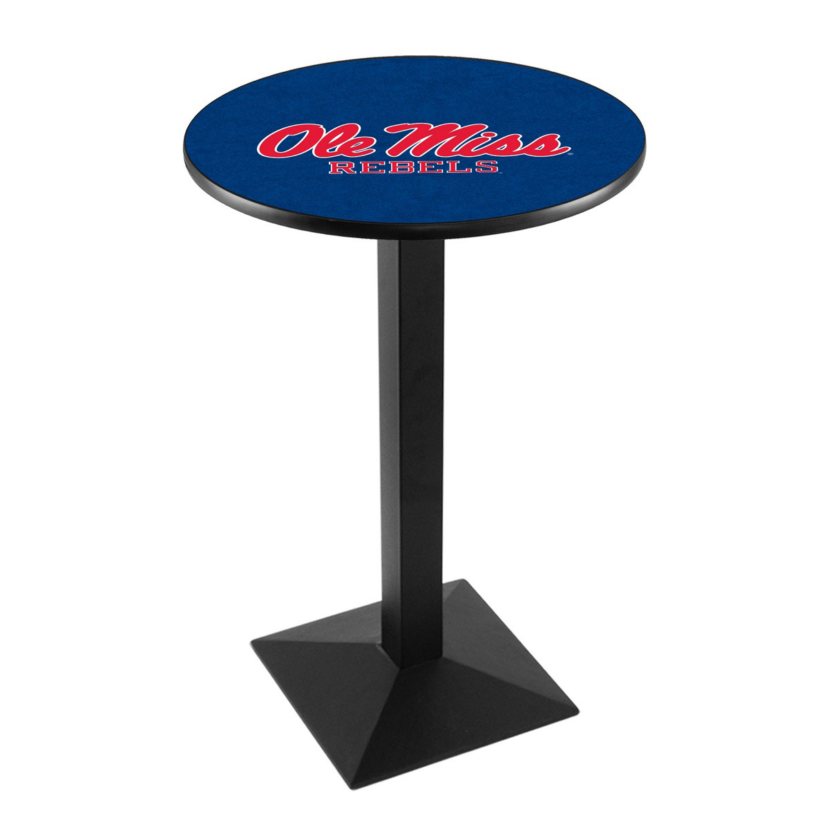 Affordable University Mississippi Logo Pub Bar Table Square Stand Product Photo